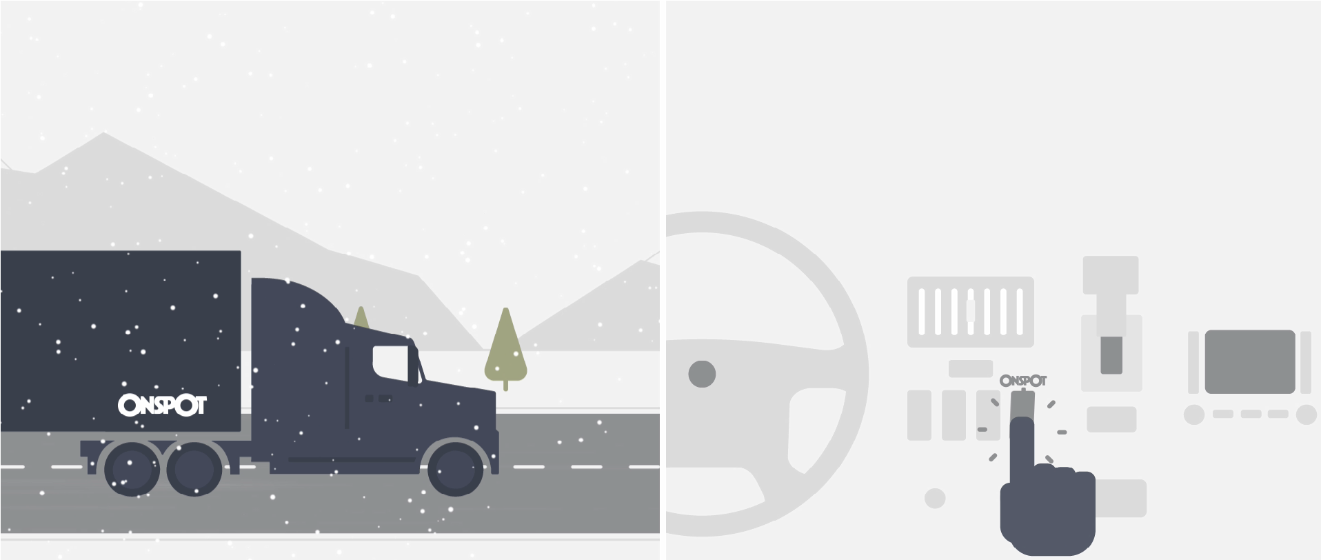 camion + inter web