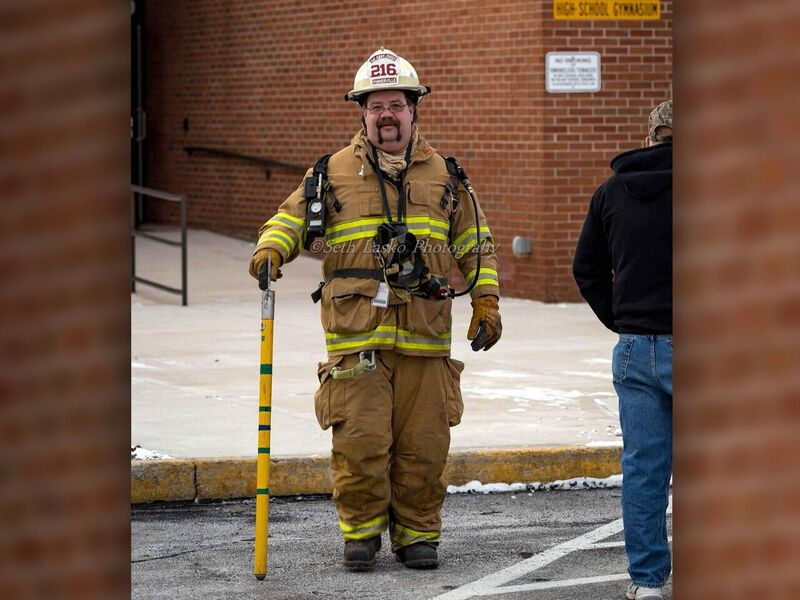 Fisherville Assistant Fire Chief Raymond Urich Jr